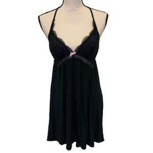Victoria's Secret Black Lace Detail Sleep Wear